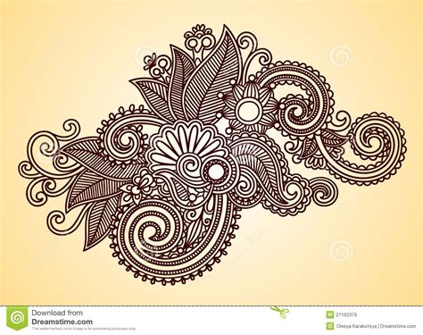 henna tattoo drawings designs henna design element stock vector image of flowers
