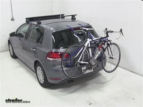 Bike Rack For Vw Golf thule trunk bike racks for volkswagen golf 1990 th9009xt