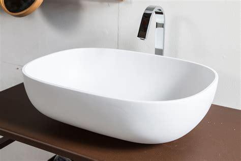 lavello in resina lavabo in resina snob 55x40 5x16h cm