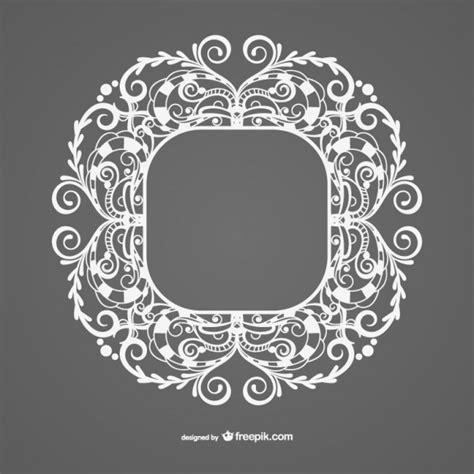marcos vintage en blanco y negro descargar vectores gratis estilo vintage plantilla de marco blanco descargar