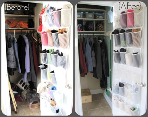 Coat Closet Systems Coat Closet Before And After The Borrowed Abodethe