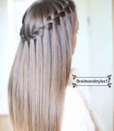 best way to braid hair for a sew in 25 best ideas about waterfall braids on pinterest