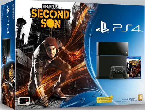 Ps4 Infamous Second Infamous Second Limited Edition Free Bonus Mission