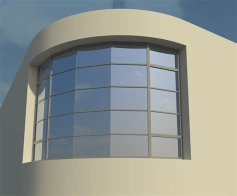 curved curtain wall revitcity com image gallery curtain in curved wall