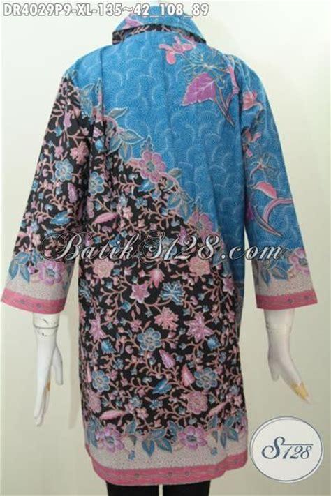 Dress Batik Wanita Dress Batik Xl busana batik wanita dewasa size xl baju dress batik