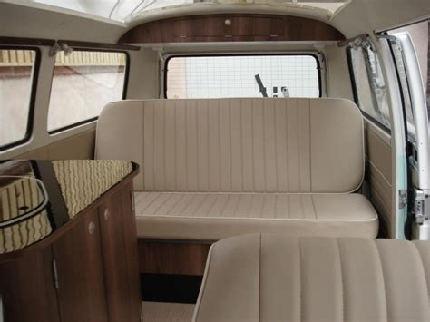 volkswagen kombi interior bodhi 75 vw bay window cervan american walnut www