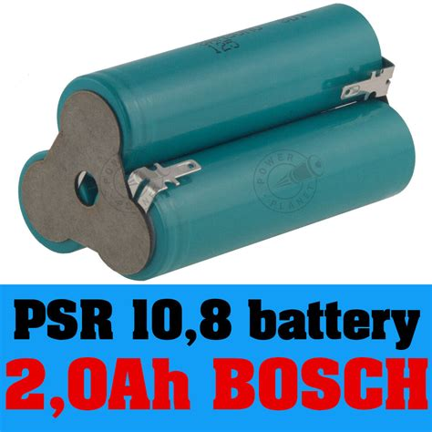 Bosch Battery 10 8 Li Ion bosch psr 10 8 li replacement battery li ion 10 8v spare