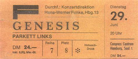 genesis tickets ticket genesis congress centrum hamburg 29th june