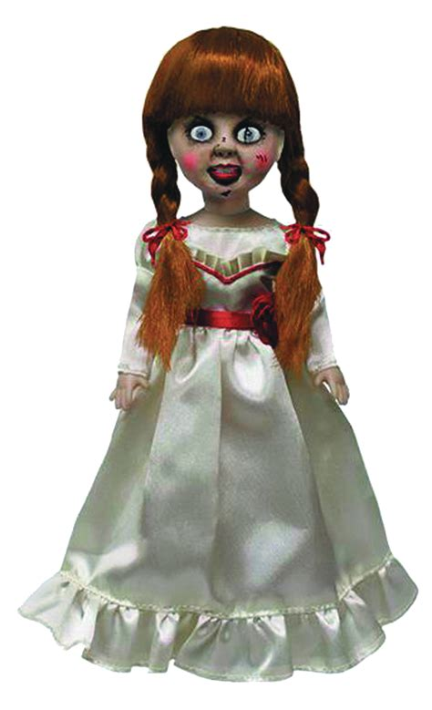 annabelle doll living dead previewsworld living dead dolls annabelle doll