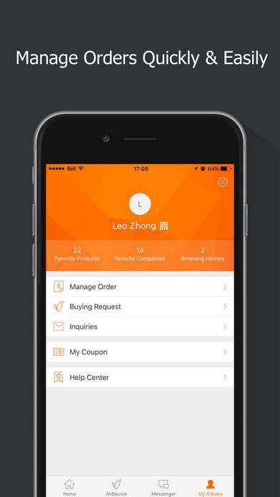 alibaba app alibaba com app buy sell goods across the world on the