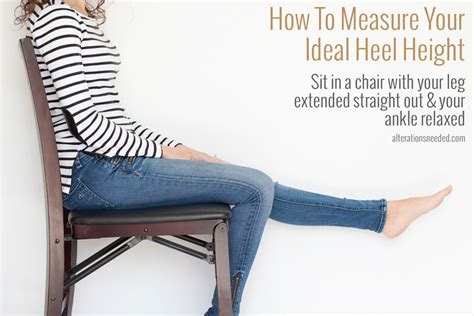 how to your to heel how to measure your ideal heel height alterations needed