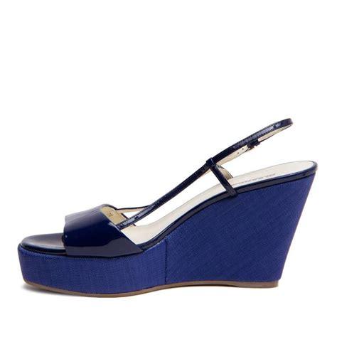 royal blue wedge sandals jil sander royal blue wedge sandals for sale at 1stdibs