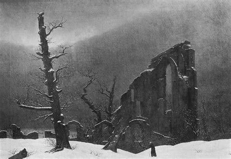 Caspar David Friedrich Referat by File Caspar David Friedrich 046 Monk In The Snow Jpg