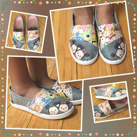 diy disney shoes diy tsum tsum toms shoes diy disney