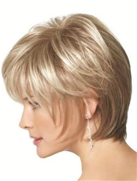 face framing haircuts for older women short face framing shag style hair fashion wigs