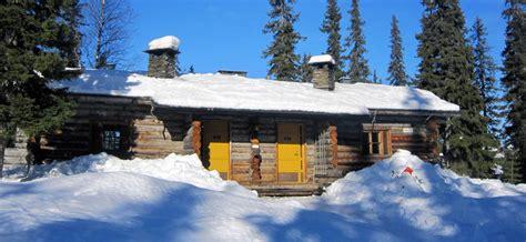 lapland log cabin lapland vakantie in silver pine cabins luosto voigt travel