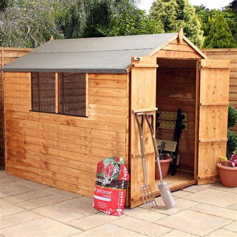 2 Floor Sheds by Shedswarehouse Oxford Flash Reduction 8ft X