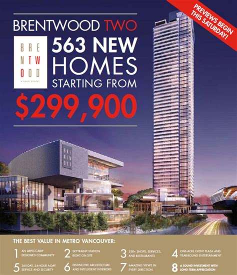 blog the amazing brentwood phase 2 prices new vancouver condos for sale presale lower mainland