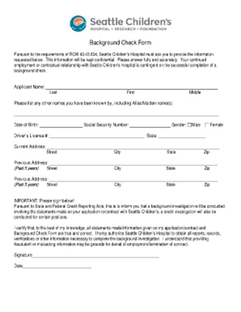 pre employment medical form template templates free