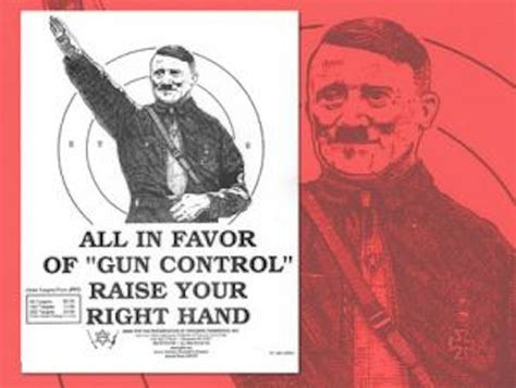 adolf and gun control what did really say