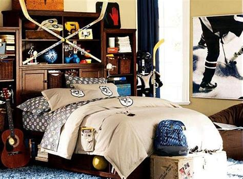 Hockey Themed Bedroom Hockey Themed Bedroom For A Home