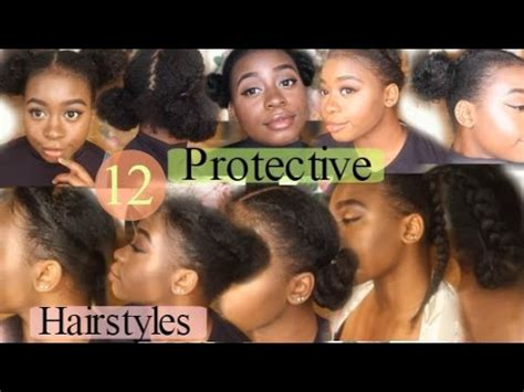 quick easy awesome protective hairstyles  natural