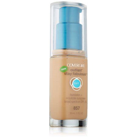 Covergirl Outlast Stay covergirl outlast stay fabulous 3 in 1 foundation golden