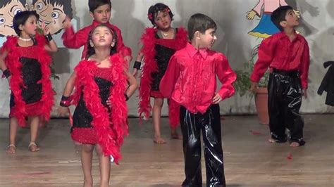 Children Dance performance on one two cha cha - YouTube