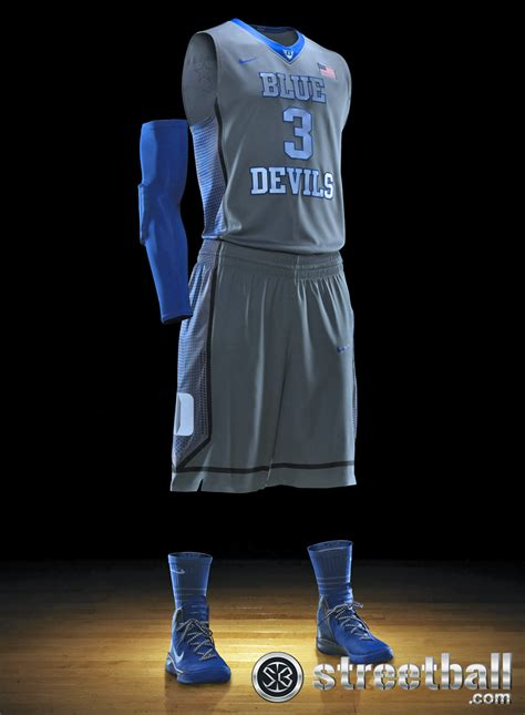 jersey design basketball blue duke basketball uniform nike hyper elite platinum png