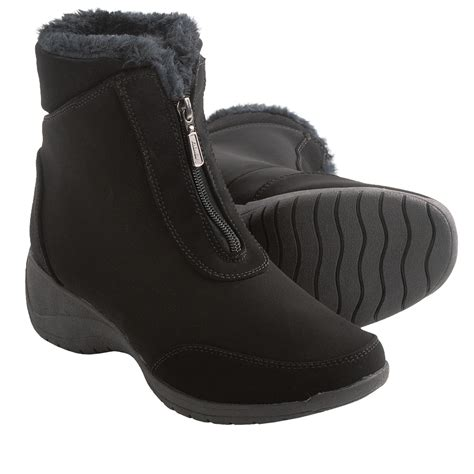 khombu boots for khombu zip snow boots insulated for save 30