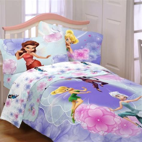 tinkerbell bedroom set awardpedia disney 72 by 86 inch fairies floral frolic
