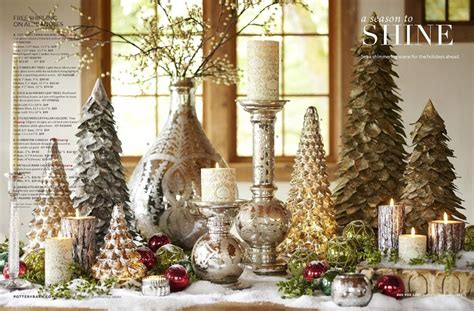 pottery barn holiday christmas decor pinterest