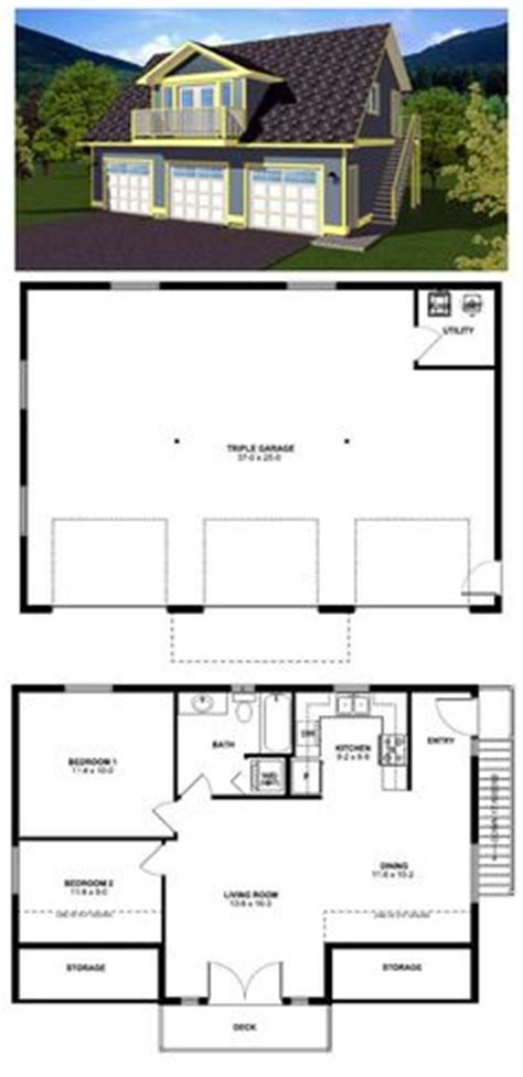 garage plans with 2 bedroom apartment above 1000 images about garage apartment on pinterest garage