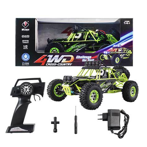 Rc Wl Toys 12428 Kodok wltoys 12428 1 12 4wd crawler rc car with led light rtr 2 4ghz
