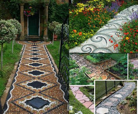 home design ideas decorating gardening 12 lovely garden path and walkways ideas home and