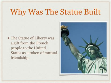 was the statue of liberty a gift from the people of france statue of liberty