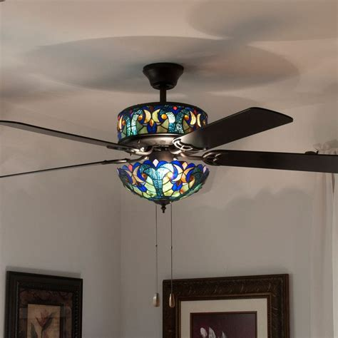 stained glass ceiling fan light shades best 25 tiffany ceiling fan ideas on pinterest 60