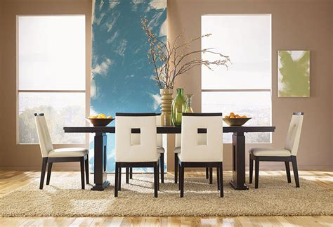 furniture make a statement in the dining room with three top 10 dining room trends for 2016
