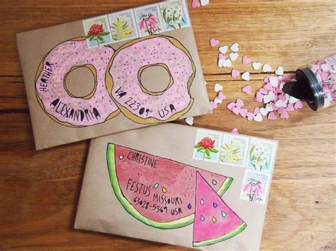Envelope Decoration Ideas by 25 Best Ideas About Envelope On Decorated