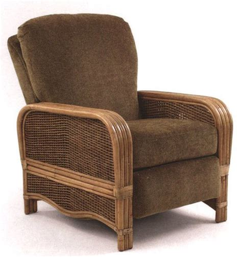 Wicker Recliner Chair by Braxton Culler Shorewood Recliner 1910 025 Wicker Recliner