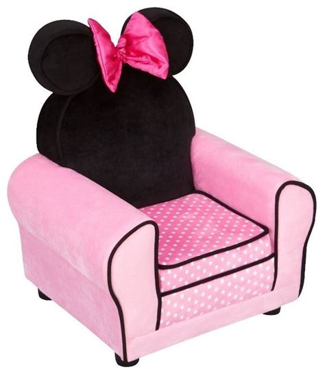 minnie couch disney minnie mouse upholstered sofa chair modern kids