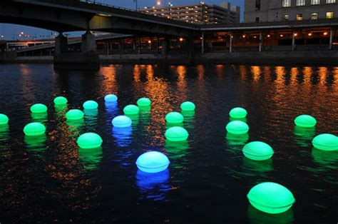 Water Lights by 100 Orbs Of Light Float In The Schuylkill River Core77