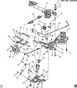 Pontiac Aztek Parts 2003 Pontiac Aztek Gt Suspension Rear Part 1