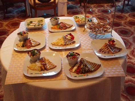 Bacon Main Dishes - specialty restaurants and venues at sea sensory nutritionsensory nutrition