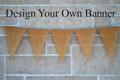 Make Wedding Banner by Wedding Banner Burlap Banner Custom Banner