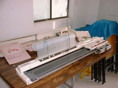 brothers knitting machine knit king 93 kk93 knitting machine