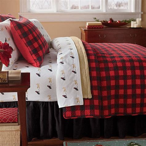 Buffalo Check Quilt by Western Buffalo Check Plaid Quilt Set