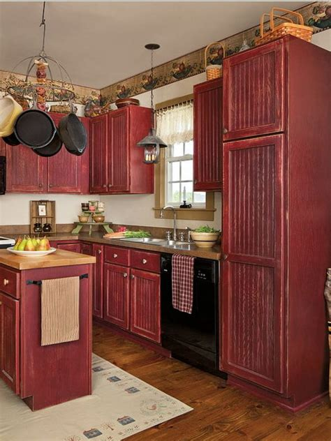 painting kitchen cabinets red 80 cool kitchen cabinet paint color ideas noted list