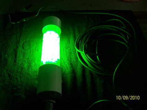 diy fishing lights shrimp light build submersible light