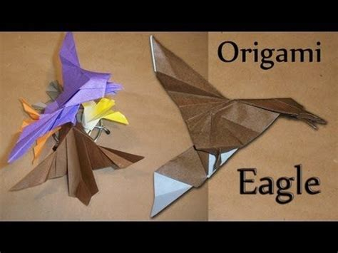 tutorial origami eagle 17 best ideas about origami eagle on pinterest origami